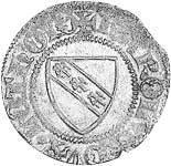 Blanc Herzog Karl II. 1390-1431  prägefrisch
