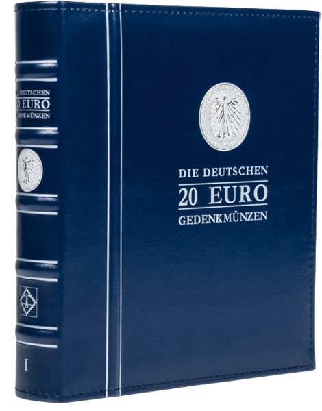 Aufbewahrung für die deutschen 20-Euro-Münzen