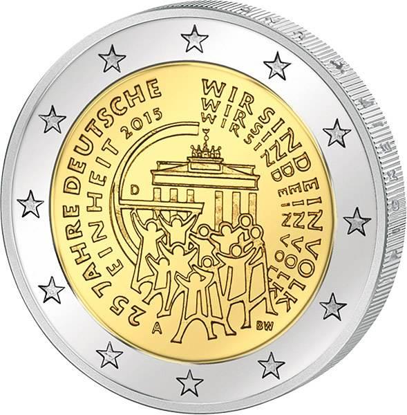 2 Euro BRD 25 Jahre Deutsche Einheit 2015