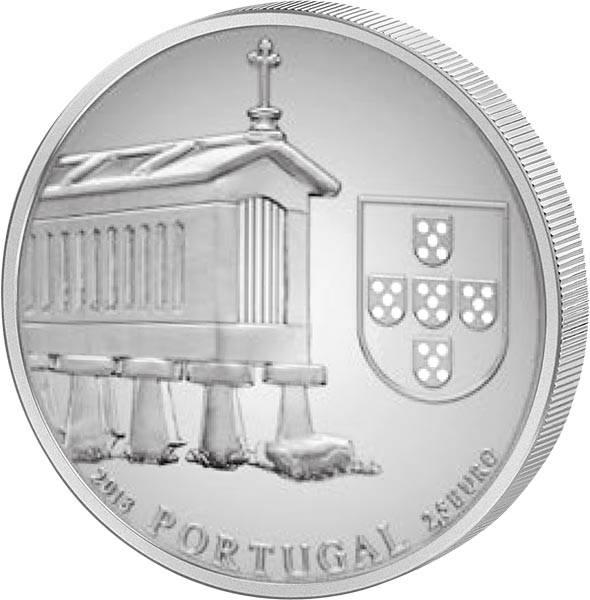2,5 Euro Portugal Traditionelle Maisspeicher 2018