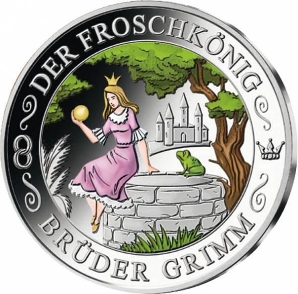 Gedenkprägung Froschkönig