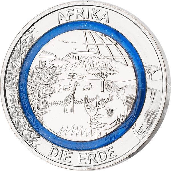 Gedenkprägung Subtropische Zone Afrika