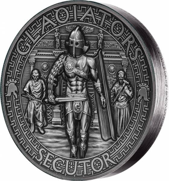 5 Dollars Salomonen Gladiatoren Secutor 2017 - FOTOMUSTER