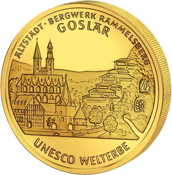 100 Euro BRD UNESCO-Weltkulturerbe Altstadt Goslar 2008