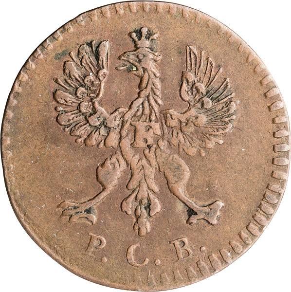 1 Heller Freie Rechsstadt Frankfurt 1773