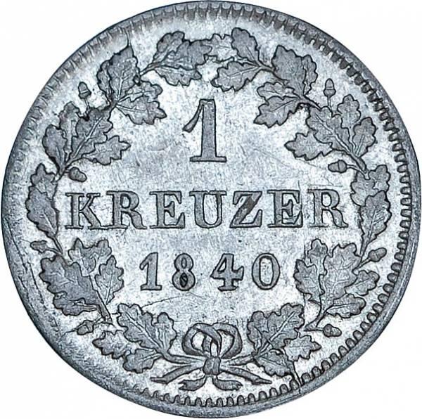 1 Kreuzer Bayern König Ludiwg I.