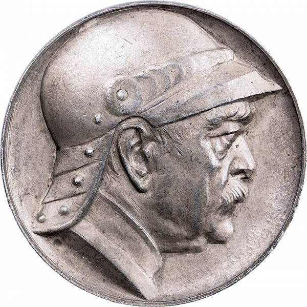 Silbermedaille zum 80. Geb. des Reichskanzlers Otto von Bismarck 1895