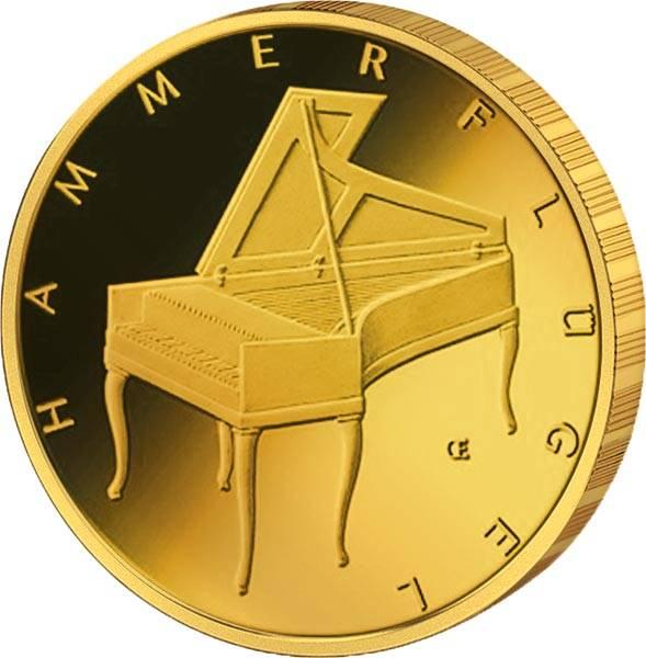 50 Euro BRD Musikinstrumente Hammerflügel 2019