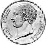Taler  Carl Friedrich 1811  vorzüglich