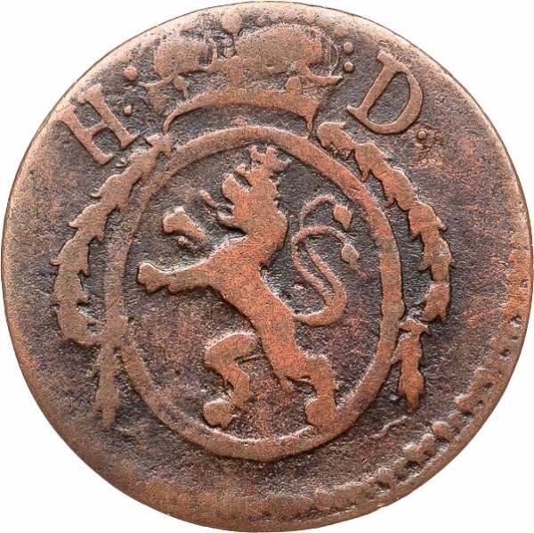 1 Pfennig Hessen-Darmstadt Landgraf Ludwig X. 1798-1806