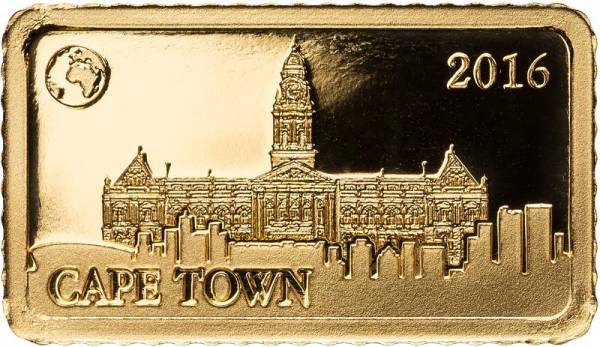 10 Dollars Salomonen Kapstadt Altes Rathaus 2016