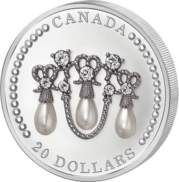 20 Dollars Kanada Lover´s Knot Tiara 2021