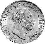 Taler König Ernst August 1837-1851 Stempelglanz