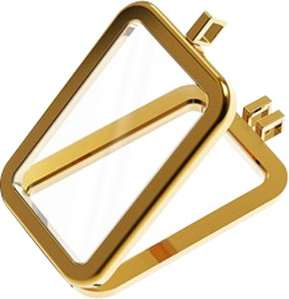 Schmuckfassung für 1-Unzen-Goldbarren