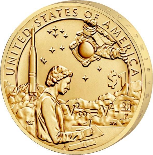 1 Dollar USA Indianer im Weltraumprogramm 2019