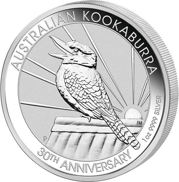 1 Unze Silber Australien Kookaburra 2020