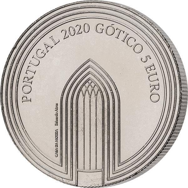 5 Euro Portugal Europas Zeitalter - Gotik 2020