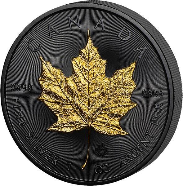 1 Unze Kanada Maple Leaf 2019 Golden Enigma Edition