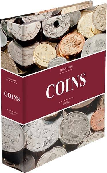 Münzalbum für 152 Münzen aus aller Welt