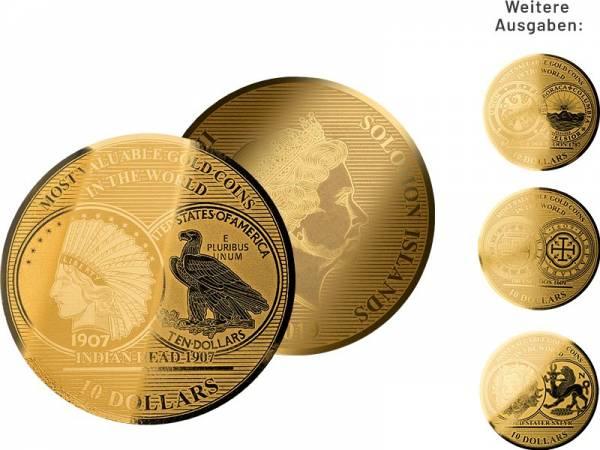 Gold-Kollektion: Wertvollste Goldmünzen der Welt