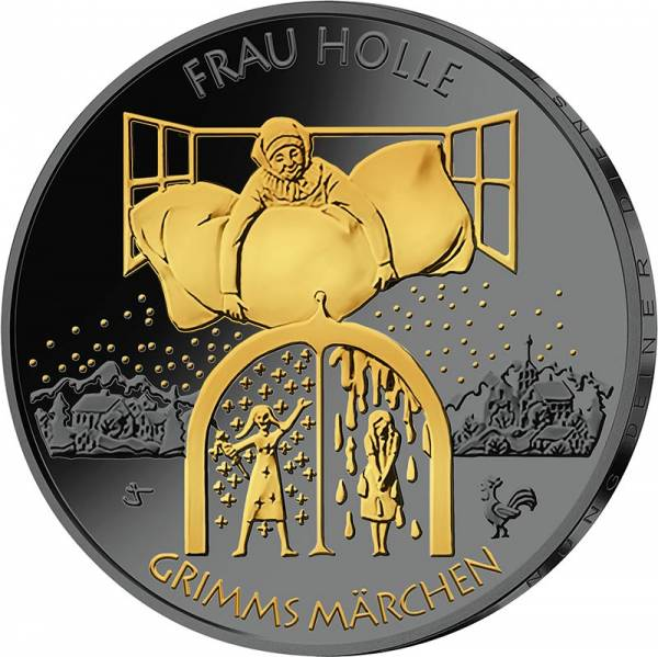 20 Euro BRD Grimms Märchen - Frau Holle 2021 Golden Enigma Edition