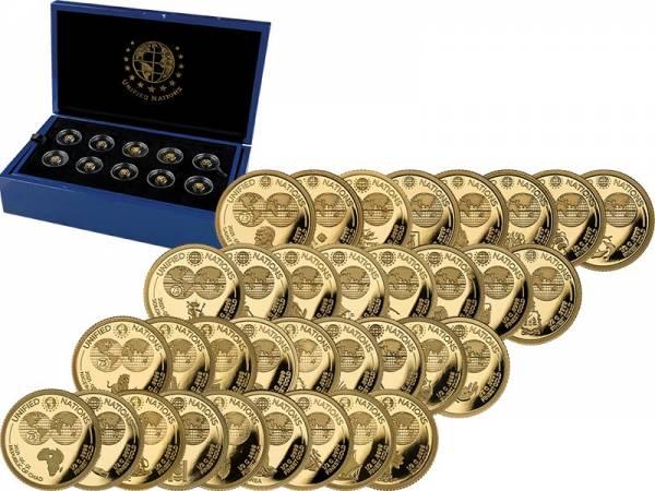 Gold-Kollektion Unified Nations 2021