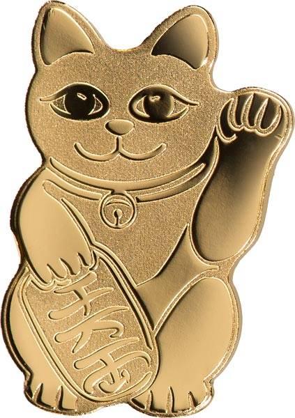 1 Dollar Palau Winkende Katze 2018
