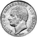 Taler Doppelgulden Ludwig II. 1845-1847  ss-vz