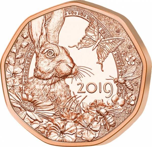 5 Euro Österreich Frühlingserwachen 2019