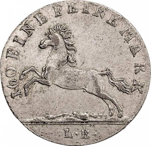 3 Mariengroschen Hannover König Georg IV. 1820-1821