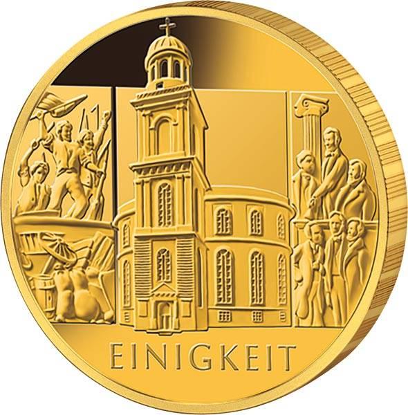 100 Euro BRD Einigkeit 2020