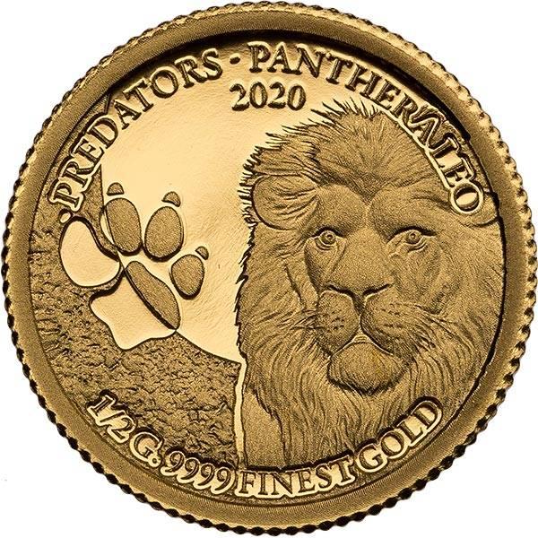 250 Francs Senegal Predators Löwe 2020