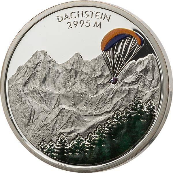 Gedenkprägung Österreichs schöne Bergwelt Dachstein
