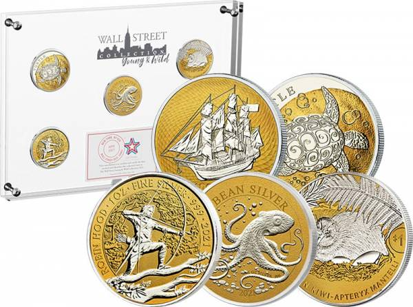 Wall Street Investment Silver Collection - Young & Wild 2021