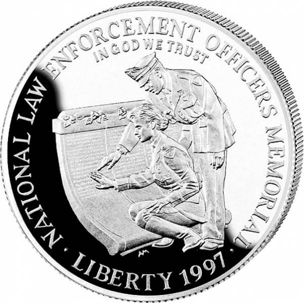 1 Dollar USA Polizeidienst
