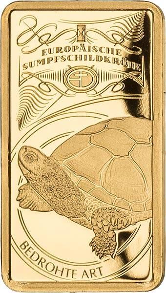 Goldbarren Bedrohte deutsche Tierarten Sumpfschildkröte