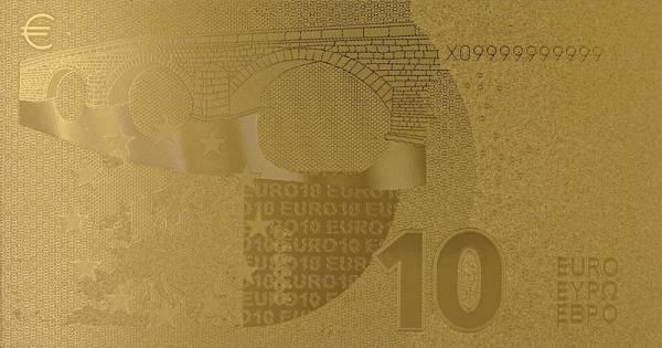 10 Euro BRD Goldfolien-Banknote