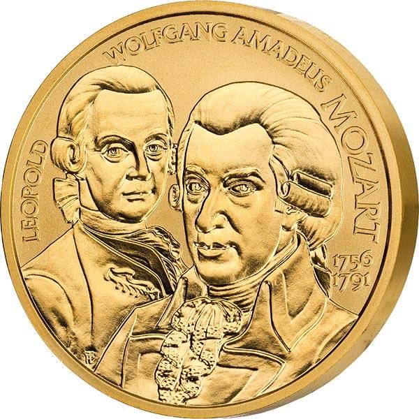 50 Euro Österreich Wolfgang Amadeus Mozart