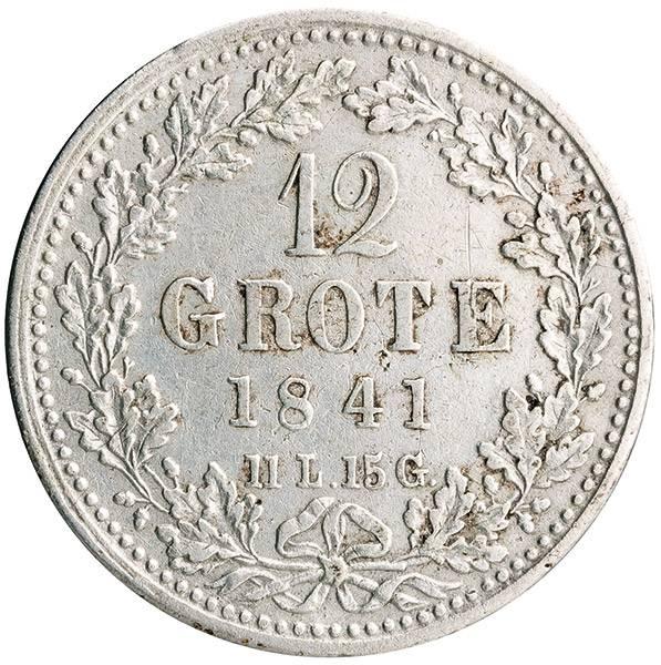 12 Grote Freie und Hansestadt Bremen 1840-1846