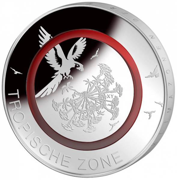 5 Euro BRD Tropische Zone 2017