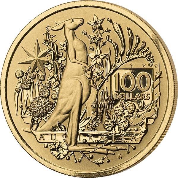 1 Unze Gold Australien Coat of Arms 2021