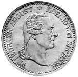 Taler Ausbeutekonventionstaler Friedrich August 1827 ss-vz