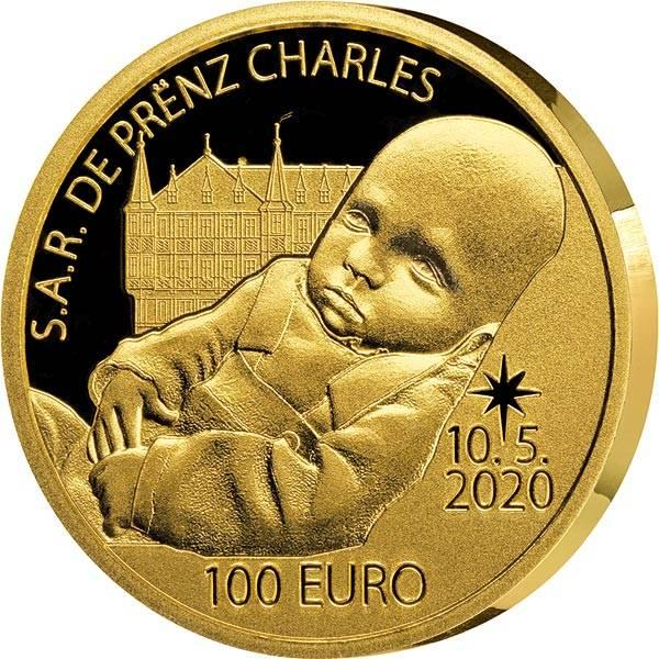 100 Euro Luxemburg Geburt Prinz Charles 2020