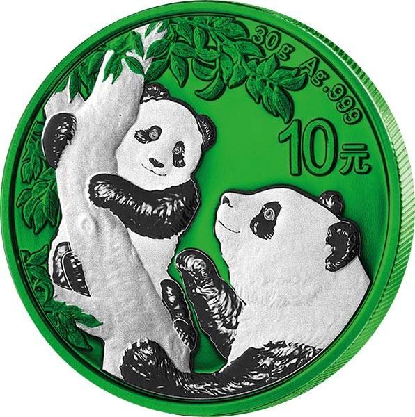 10 Yuan China Panda 2021