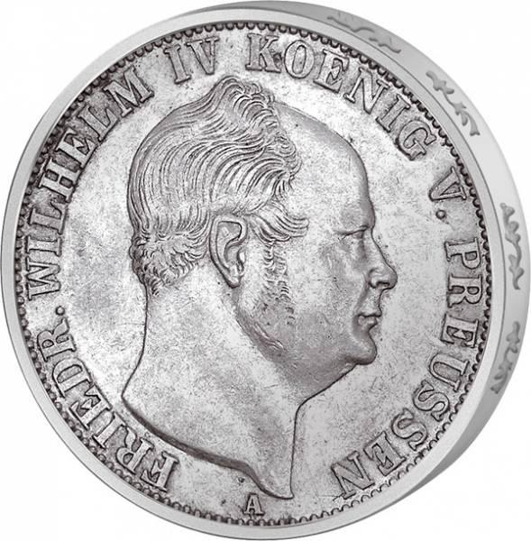 Taler  Friedrich Wilhelm IV. 1853-1856  Sehr schön