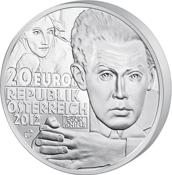 20 Euro Österreich Egon Schiele 2012