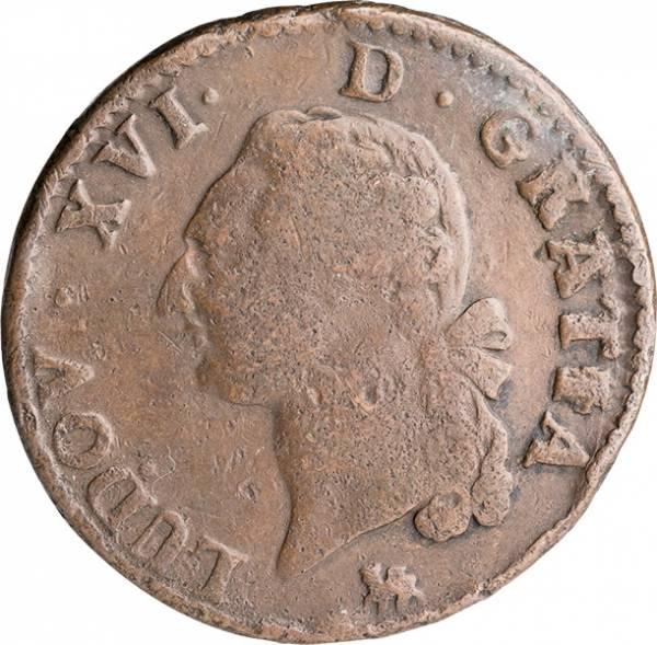 1 Sol Frankreich König Ludwig XVI. 1777-1791