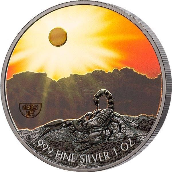 2 Dollars Niue Skorpion 2020