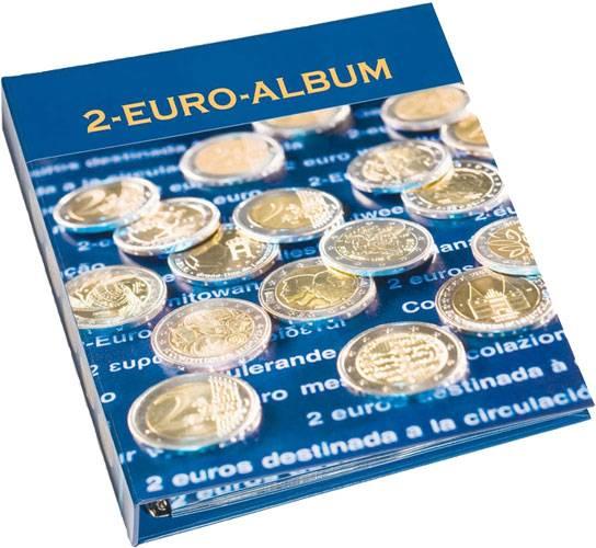 Münzalbum für 2-Euro-Gedenkmünzen Band 2