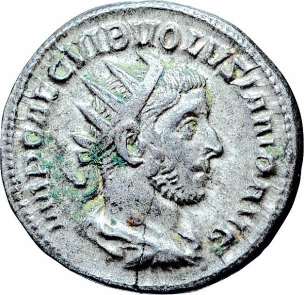 Antoninian Rom Mitkaiser Volusianus